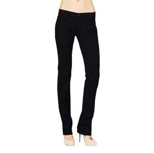 Straight Leg in Black 7 For All Mankind size 26